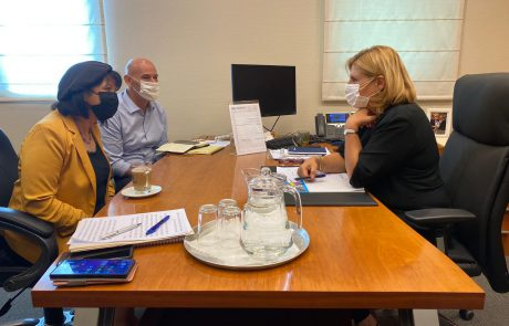 ממשיכים במאמצים למען בית שמש: ראש העיר נפגשה עם שרת הכלכלה